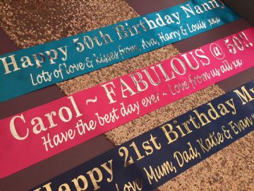 Personalised Party Banner